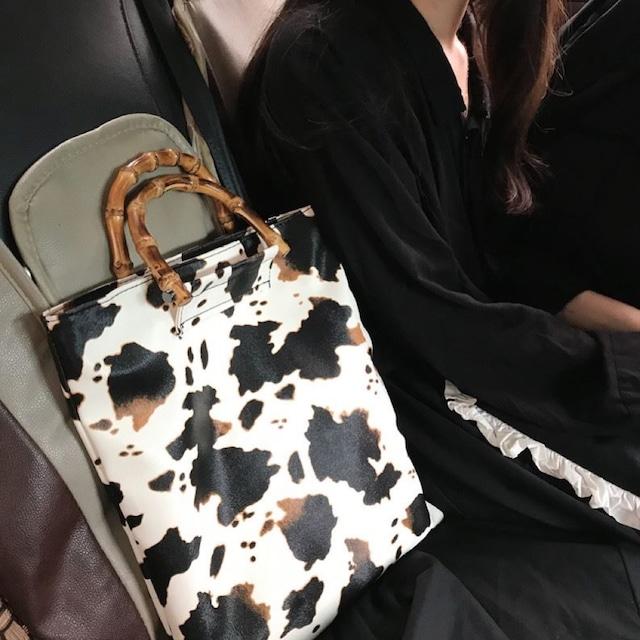 Cow pattern BAG  /  A048