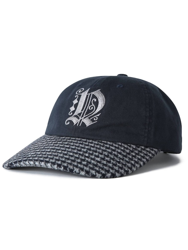 THISISNEVERTHAT HOUNDSTOOTH BILL CAP NAVY