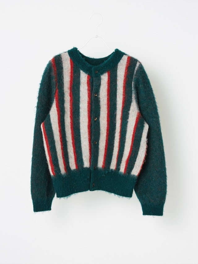 【COOHEM ARCHIVE】SHAGGY JACQUARD PULL-OVER