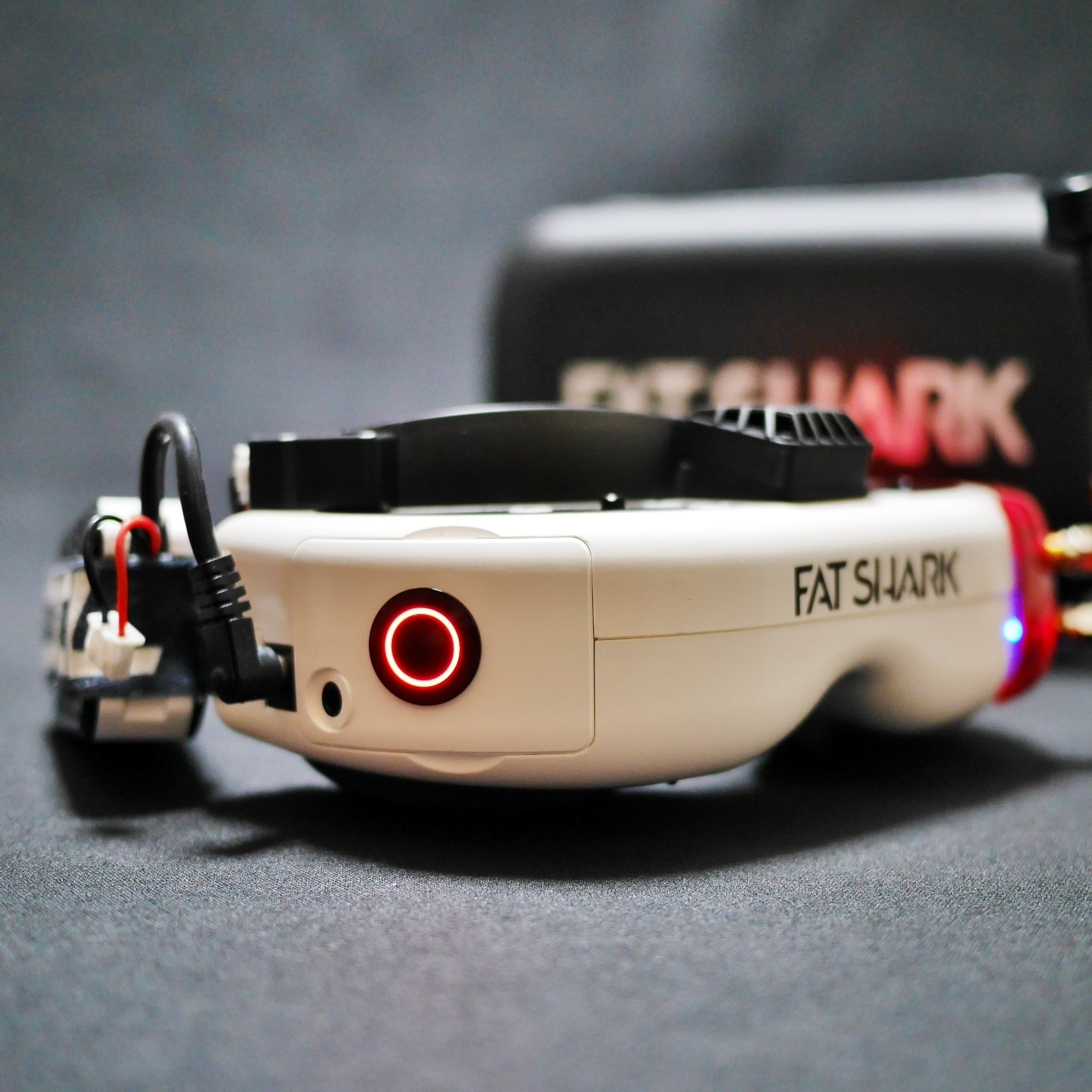 Fat Shark HDO電源ボタン改造 ※他商品との同梱不可