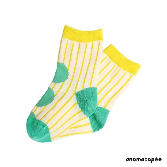 anomatopee socks 【MARUMARUわかば】 アノマトペ ソックス 靴下 S〜L(13cm〜24cm)