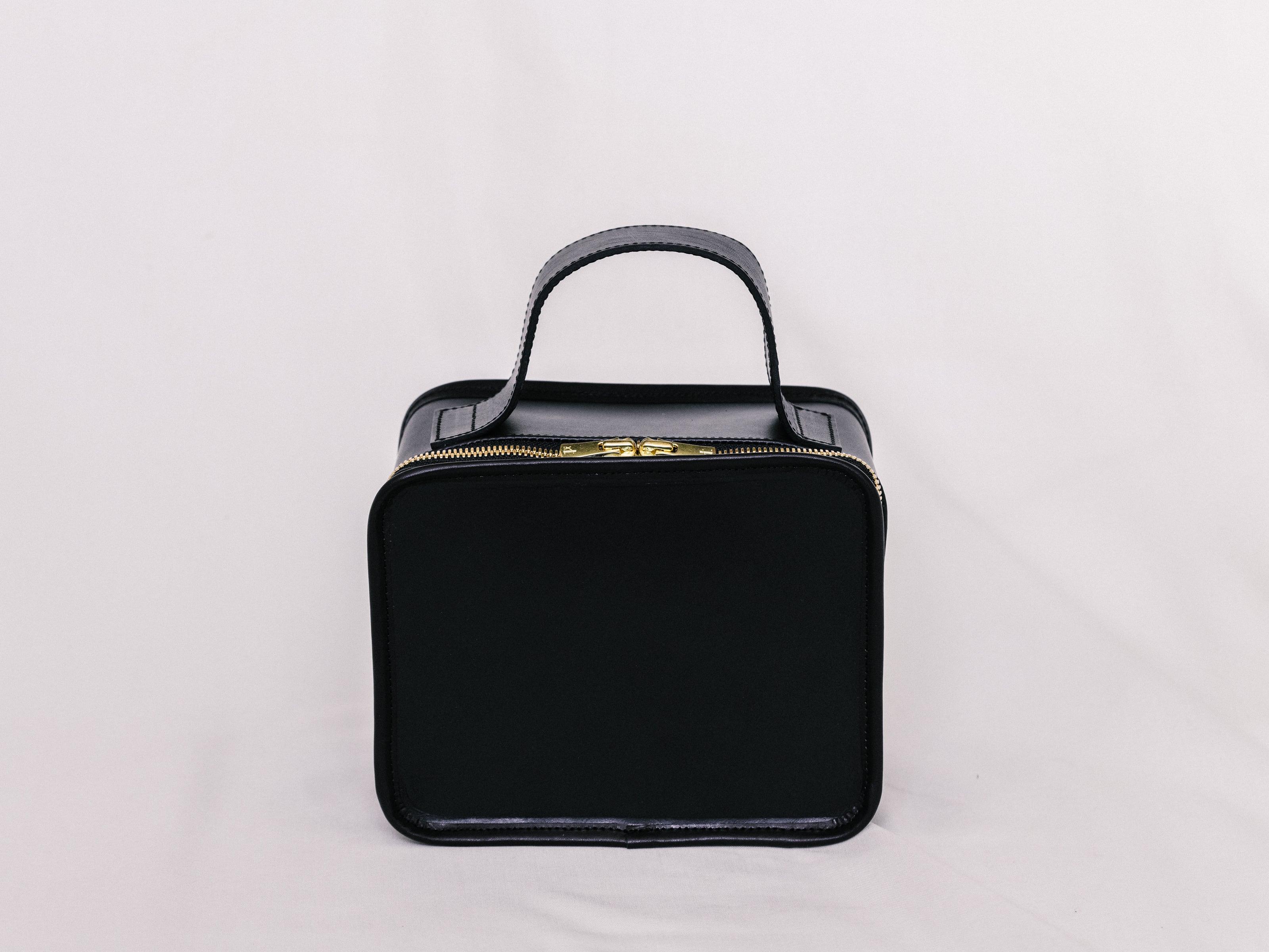 Leather Mini Book Bag
