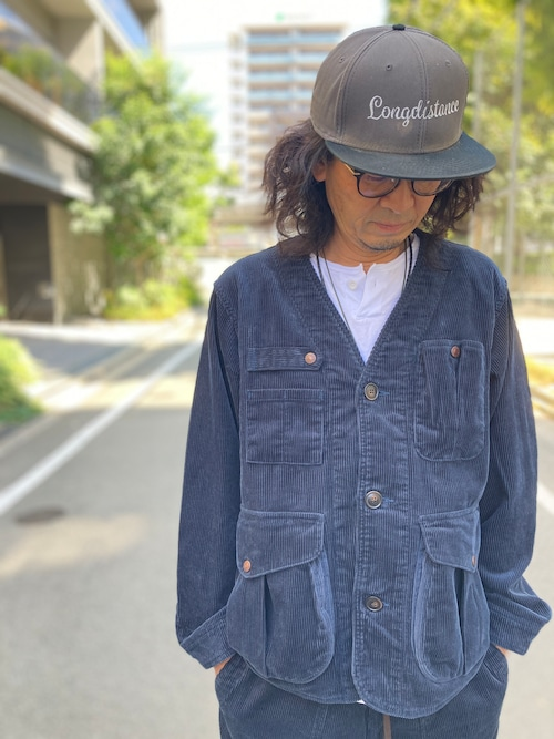 GOWEST CROSSOVER JACKET(NAVY)