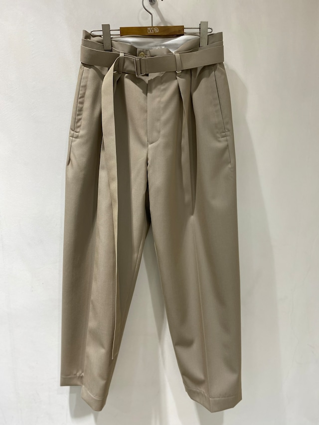 【SEEALL】BELTED PANTS