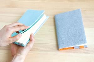 五箇山和紙のブックカバー 〈文庫本/ A6サイズ〉  FIVE