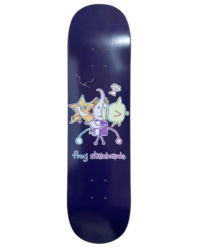 Frog skateboards Cracked (Robot Boy) Deck 8.0