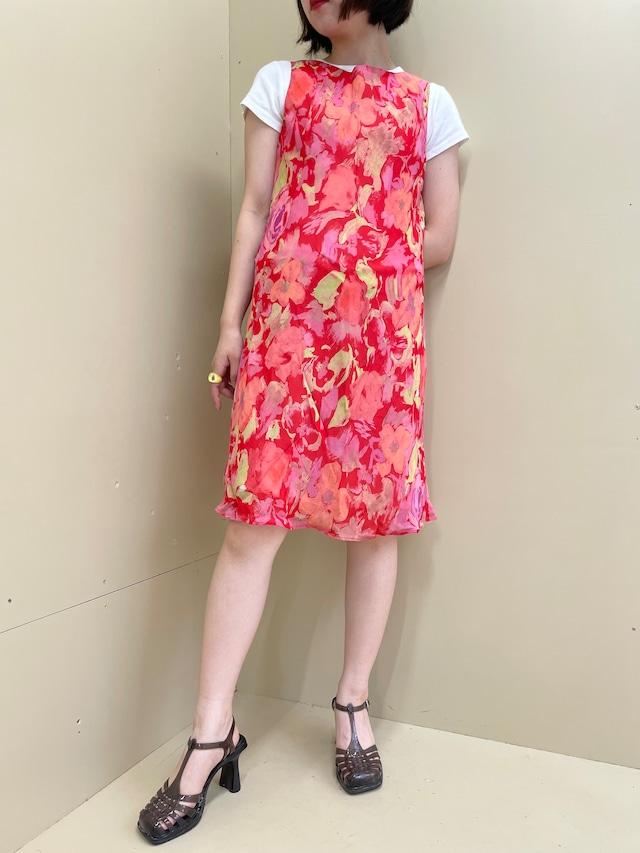 floral  one-piece / 7SSOP27-10