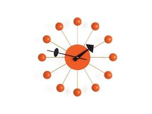 【Vitra Design Museum】Ball Clock 【Orange】