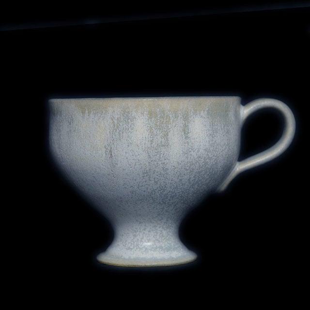 大久保りさ Risa Okubo ステムマグカップ マットブルー