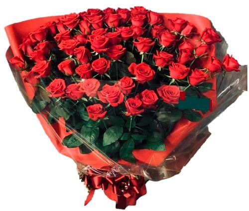 バラ60本の花束
