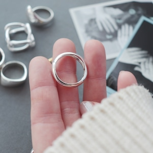 RING || 【通常商品】 WAVE RING SILVER (S925) || 1 RING || SILVER || FAL057