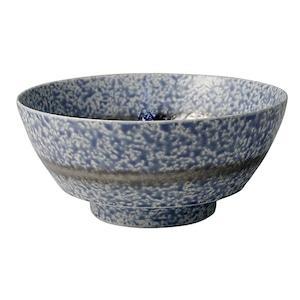 まるぶん 有田焼 陶悦窯 究極の ラーメン鉢 青吹プラチナ帯 R0146
