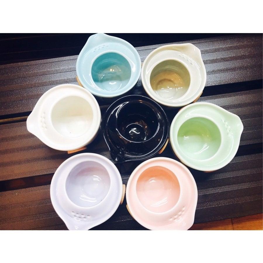 【台湾茶藝館 狐月庵】プレゼント、ギフトに台湾茶は如何でしょうか。台湾茶 台湾茶器と茶缶2個セット