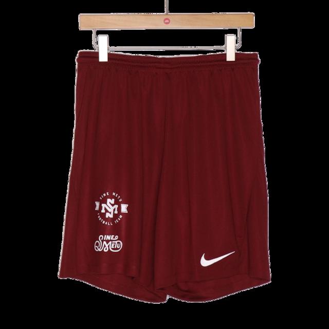 SINE METU FOOTBALL TEAM トレーニングショーツ / ベンガラ | SINE METU - シネメトゥ