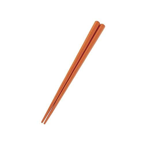 六角形16cm箸 キャラメル 【OGH-1CA】