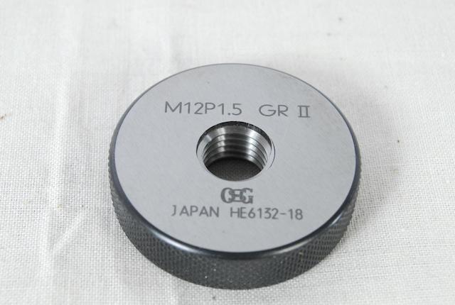 3227 OSG ネジリングゲージ M12 P1.5 GRⅡ GR2 GRII 愛知県岡崎市 直接引取可