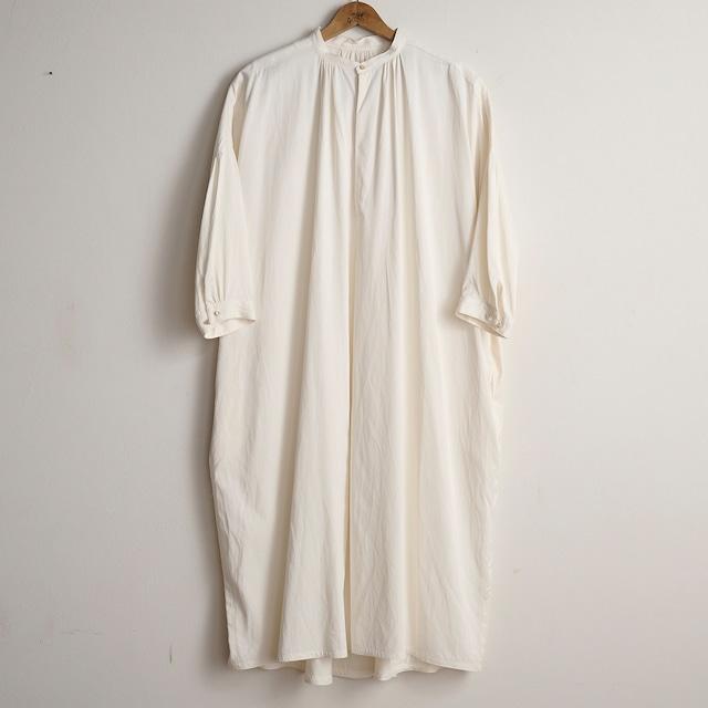 suzuki takayuki スズキタカユキ slip-on dress nude