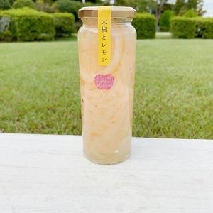 浜松産大根とレモンのさっぱり低カロリーピクルス