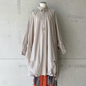 【mintdesigns】SHIRT PONCHO(LADIES)/37202-HC3CS06