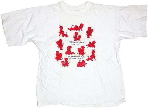 90s デビルセックスTシャツ
