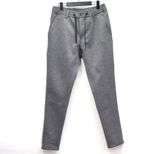 Aqua Guard Zip Jersey Tapered Pants Gray