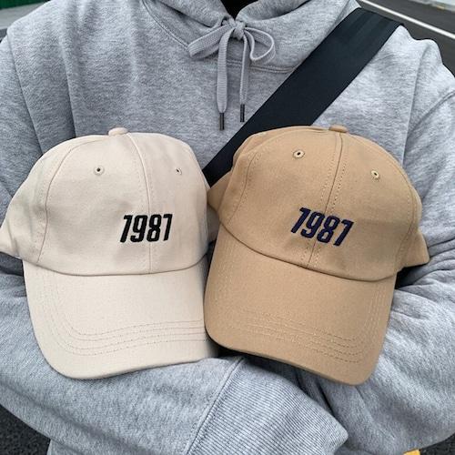 1987ベースボールキャップ BL8370
