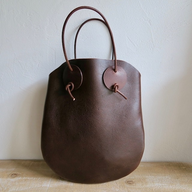 Kudu Leather 手さげバッグ