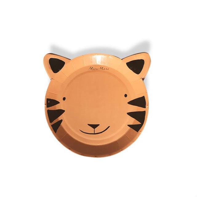 merimeri メリメリ  - paper plate / ペーパープレート ( TIGER ) 12枚入り