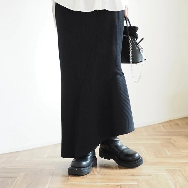 【 ANIECA 】Knit skirt