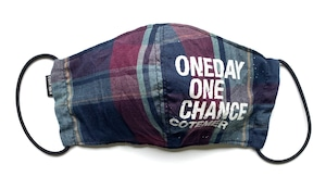 【COTEMER マスク 日本製】ONE DAY ONE CHANCE CHECK MASK 0523-111