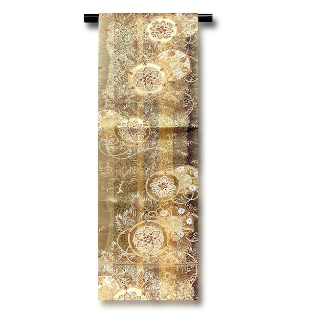 正絹袋帯 6-1773 モデル使用品仕立上り