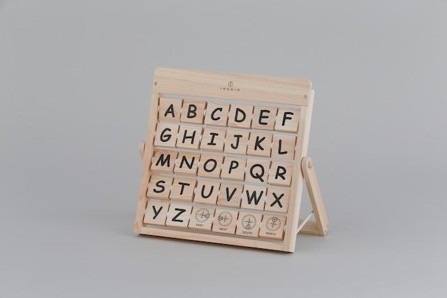 アルファベット ALPHABET | 木のおもちゃ 知育 英語教育
