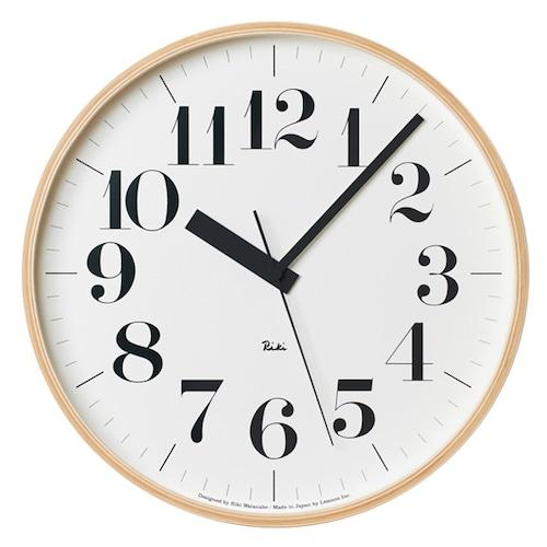 Riki Clock 電波時計(WR08-27)