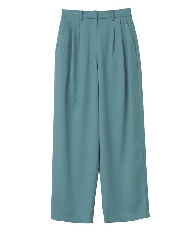 【CLANE】BASIC TUCK PANTS 11110-7102