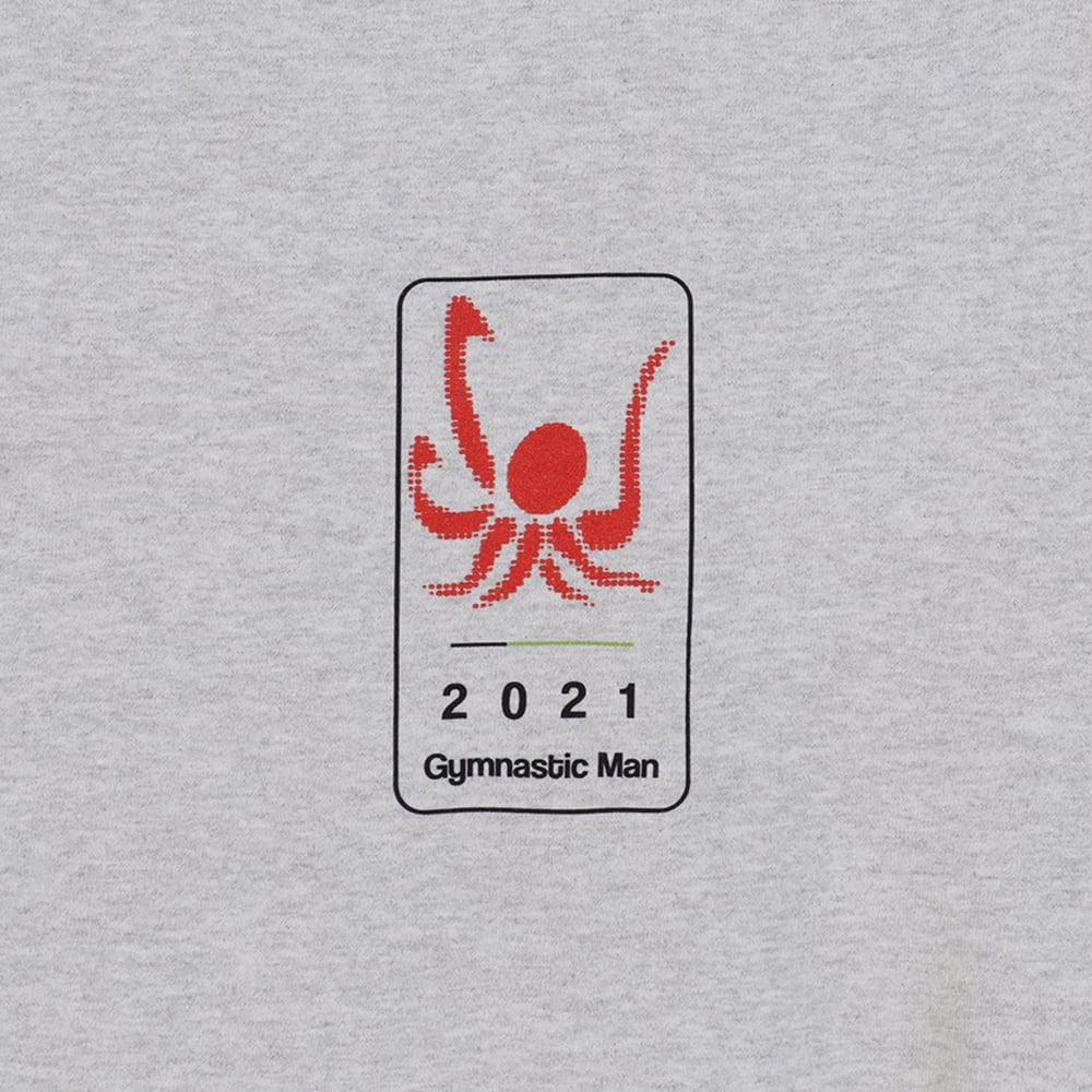 Gymnastic man Crewneck Sweatshirts / Gray - 画像3