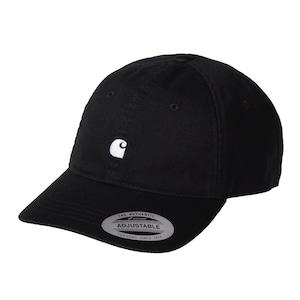 Carhartt (カーハート)MADISON LOGO CAP - Black / White