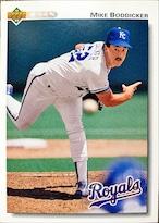 MLBカード 92UPPERDECK Mike Boddicker #213 ROYALS