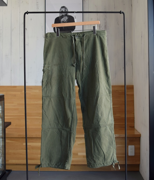 VINTAGE OVER ARMY PANTS