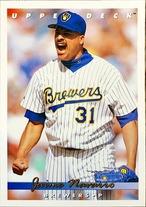 MLBカード 93UPPERDECK Jaime Navarro #237 BREWERS
