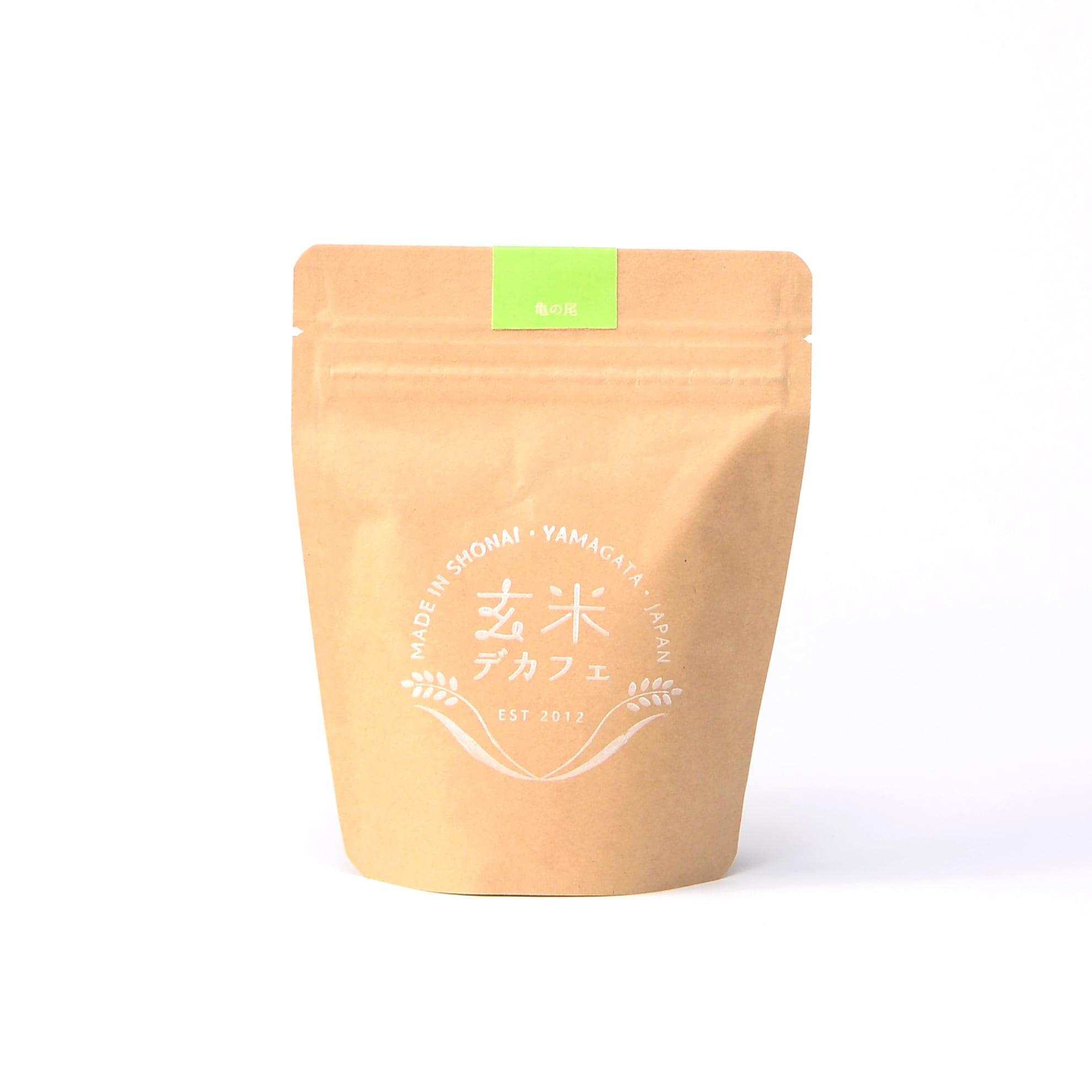 玄米デカフェ・亀の尾 100g 粉タイプ