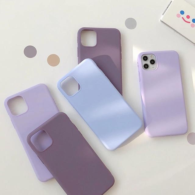 Simple one tone iphone case