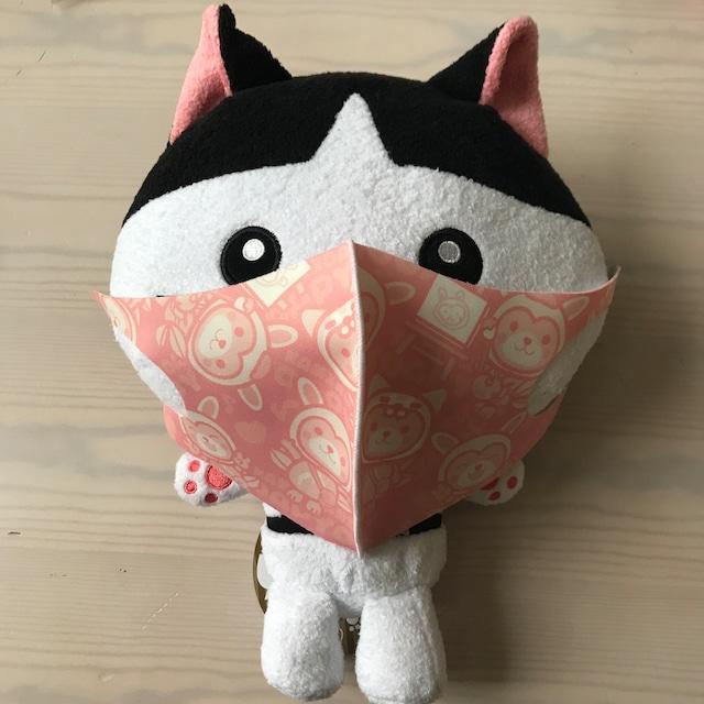 こあぴょんマスク【ピンク】