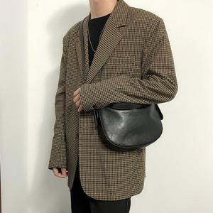 Glossy soft PU leather bag   b-491