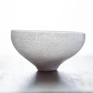 白のうつわ ボウル 碗(ガラスの器・鉢・どんぶり)/小宮 崇
