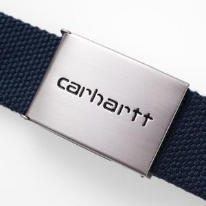 【Carhartt WIP】CLIP BELT CHROME (NV) カーハート ベルト