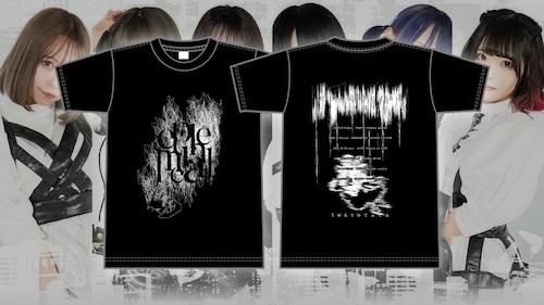 TOKYOてふてふ ephemeral tour Tシャツ