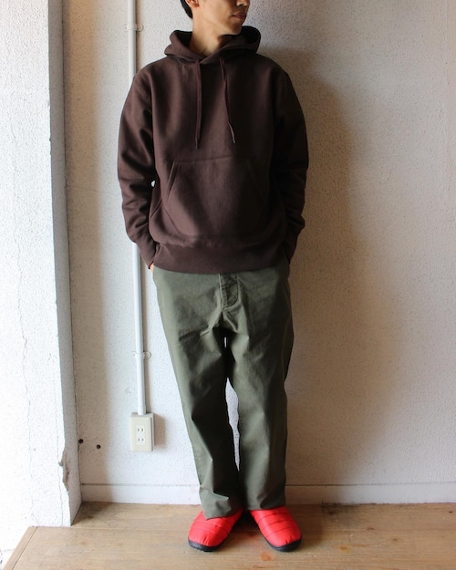 A Vontade(アボンタージ)/ Hooded Parka(フード スウェットパーカー)モカ