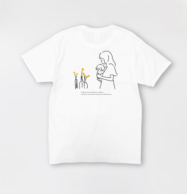 Muck with flowers t-shirt