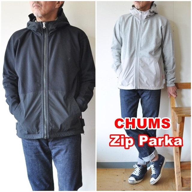 CHUMS チャムス ジップパーカー ch00-1320 ローガン ユーティリティポケットジップパーカー Logan Utility Pocket Zip Parka