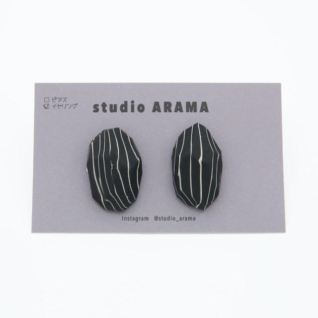 studioARAMA/再入荷スタジオアラマ/ストーンイヤリング/st-2-58